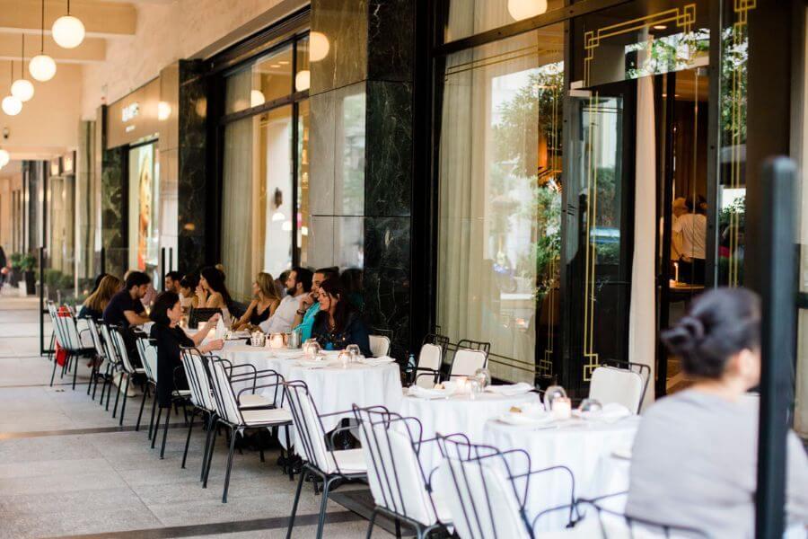 Athenee restaurant Athens