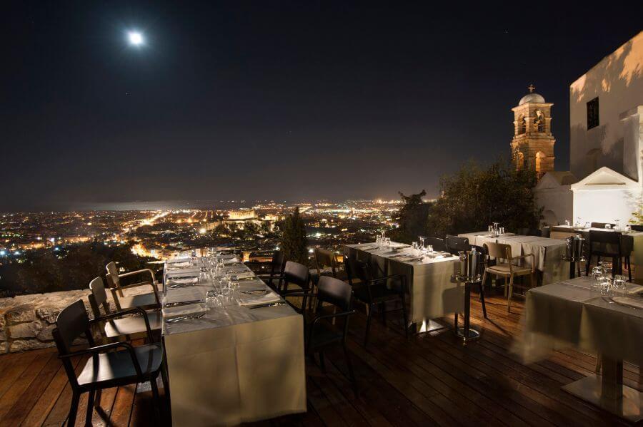 Orizontes restaurant Athens