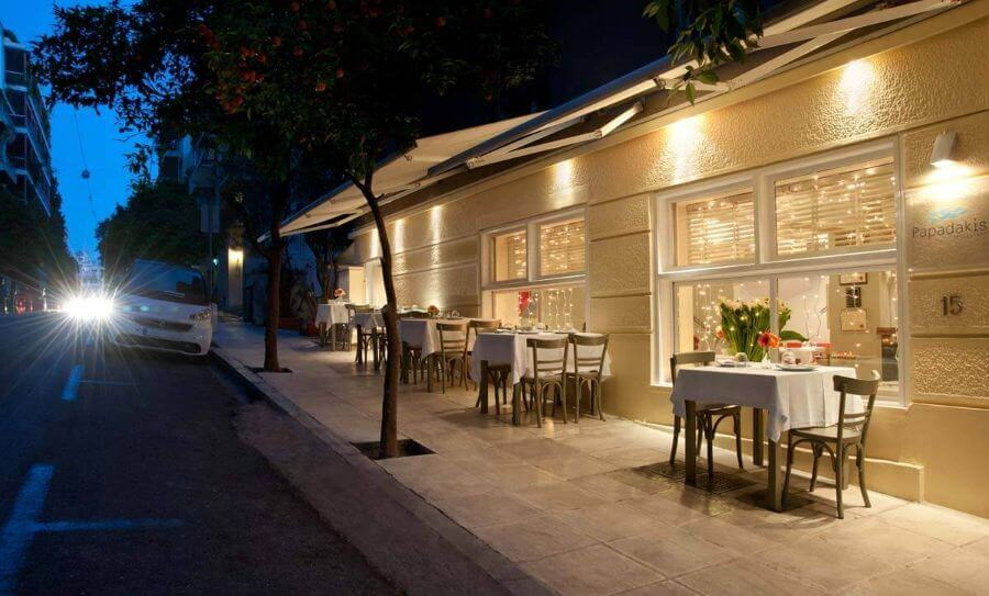 Papadakis restaurant Athens